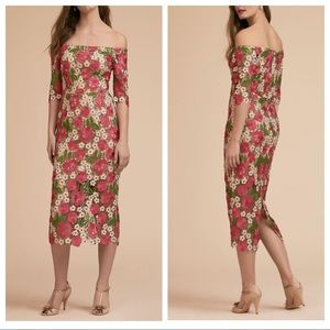 NWOT BHLDN Tamblyn Bardot Midi Dress